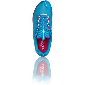 Salming iSpike Shoes Damen cyan blue/white